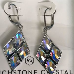 Bejeweled earrings Touchstone Crystal Swarovski NU